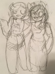 dogtier jade_harley redrom roxy_lalonde shipping sketch tetratastic witches_brew