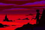 back_angle karkat_vantas land_of_pulse_and_haze penstab sickle silhouette solo