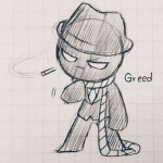 crossover dd diamonds_droog grayscale last-newage pastiche pencil smoking solo the_binding_of_isaac