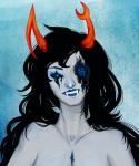 blood eldritch-heiress eyesquick headshot no_glasses ohgodwhat solo vriska_serket web