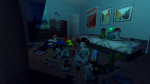 3d action_claws beverage cane food gmod hebrideanisle karkat_vantas mcdonald's nepeta_leijon no_glasses no_hat on_stomach pajamas scalemates seeing_terezi sickle sitting team_fortress_2 terezi_pyrope