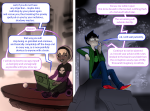 black_squiddle_dress blush consuelodoodles cueball grimdark grimdorks john's_vriska_outfit john_egbert land_of_light_and_rain land_of_wind_and_shade panel_redraw pesterlog rose_lalonde shipping text word_balloon