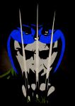 blind_rapture claw_gloves crossover headshot marvel nepeta_leijon parody solo x-men
