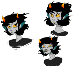 8-xenon-8 art_dump crying headshot seeing_terezi sketch solo terezi_pyrope