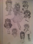 3_in_the_morning_dress art_dump dead_shuffle_dress dogtier dreamself dress_of_eclectica godtier iron_lass_suit jade_harley jadebot kelded multiple_personas sepia sketch solo squiddlejacket starter_outfit witch