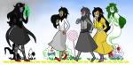 birbykind dogtier dreamself food godtier grimbark jade_harley jadebot jadesprite multiple_personas sprite starter_outfit the_wizard_of_oz witch