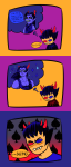 blackrom comic equius_zahhak hoofbeastly shipping sollux_captor spade techbros thought_balloon word_balloon