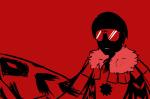 crossover dave_strider godtier knight limited_palette monochrome nintendo pokémon ray solo