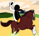 cowboy_hat hb hearts_boxcars horses skellyanon solo