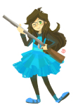 abby dress_of_eclectica hunting_rifle jade_harley solo wonk