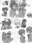 ! 3_in_the_morning_dress art_dump biscuits blush bq breakfast couplesfan crowbar doc_scratch eggs fankid felt grayscale heart humanized kiss matchsticks pencil quarters redrom shipping sketch snowball snowman stitch