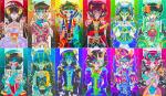 alternians aradia_megido artificial_limb crown dragonhead_cane epic equius_zahhak eridan_ampora fashion feferi_peixes flowers formal gamzee_makara heart jewelry kanaya_maryam karkat_vantas native_source nepeta_leijon no_glasses non_canon_design psidon's_trident rokkyo sollux_captor spectrum tavros_nitram terezi_pyrope unknown_weapon vriska_serket weapon web zodiac zodiac_symbol