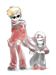 coolkids dave_strider fire-cycle godtier knight request shipping sitting terezi_pyrope time_aspect