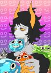 :o) crossover dragon_quest gamzee_makara mihirahira solo