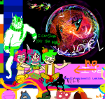 aladdin cd courtyard_droll crossover disney erisolsprite goggles jake_english jane_crocker roxy_lalonde salihombox sprite trickster_mode
