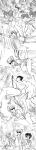alpha_kids comic crossover dirk_strider disney grayscale jake_english jane_crocker r-uoi roxy_lalonde tarzan trees