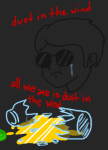 apple_juice crying dave_strider headshot kansas lyricstuck sadstuck skellyanon solo