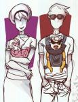 alpha_dave alpha_rose babies carrying dirk_strider roxy_lalonde strilondes whatnobro