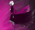 applebeejuice black_squiddle_dress grimdark huge rose_lalonde solo