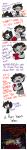 bloodsbane comic crossover gamzee_makara karkat_vantas slender slenderman