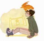 crossover deleted_source digimon jake_english my-friend-the-frog sitting starter_outfit