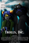 action_claws crossover death-limes disney equius_zahhak meowrails monsters_inc nepeta_leijon parody pixar