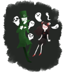 aradia_megido dead_aradia die felt ghosts scribblestuck-tata transparent