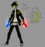 2sday au black_rock_shooter character_sheet crossover psionics sollux_captor solo vocaloid