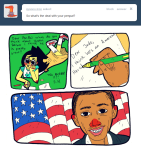 ask barack_obama comic flag jade_harley kicksatanout