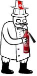 alphaserket felt fire_extinguisher grandpa image_manipulation matchsticks pixel solo sprite_mode