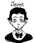 disteal grayscale headshot humanized jaspers solo
