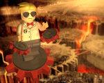 au culturalmishap dave_strider land_of_heat_and_clockwork lego puppet_tux