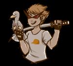 dirk_strider ectobrologist freckles lil_hal seagulls transparent unbreakable_katana