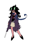 anonymous_artist crossover empiricist's_wand eridan_ampora fusion gainax panty_and_stocking rule63 solo