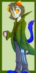 action_claws jake-spanglish nepeta_leijon no_hat solo thumbs_up
