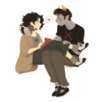 ! ? blush byers hiveswap joey_claire redrom shipping sofiaruelle star_crossed_romance xefros_tritoh