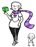 gastrictank homosuck perfectly_generic_object roxy's_striped_scarf roxy_lalonde solo transparent