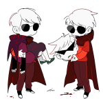 bim0ngsam0ng blood carrying dave_strider decapitation dirk_strider heart_aspect knight prince time_aspect