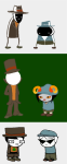 ancestors cd clubs_deuce crossover dirk_strider doc_scratch hat jack_noir jake_english professor_layton spades_slick sprite_mode the_handmaid wariofan63 young_handmaid