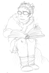 au book crossover dreadelion grayscale hat how_to_train_your_dragon sketch sollux_captor solo vikingstuck