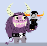 carrying crossover foster's_home_for_imaginary_friends tavros_nitram zephyrelric