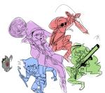 beta_kids crossover dave_strider final_fantasy half-life jade_harley john_egbert karkat_vantas nintendo rose_lalonde source_needed sourcing_attempted team_fortress_2 the_legend_of_zelda