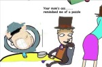 crossover hella_jeff image_manipulation professor_layton sweet_bro sweet_bro's_mom sweet_bro_and_hella_jeff