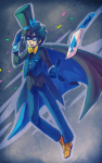 cosplay crossover detective_conan john_egbert magic_kaito solo zilleniose