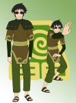 avatar_the_last_airbender crossover humanized kamden sollux_captor solo