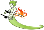 becquerel becsprite bro broken_source broquerel crossover fansprite guardians okami solo sprite