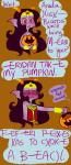 ask cosplay dc eridan_ampora feferi_peixes halloweenstuck head_out_of_frame pumpkin saccharinesylph wonder_woman