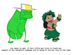 crossover disney felt lilo_and_stitch punstuck stitch wariofan63