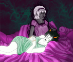 grimdark head_on_lap kanaya_maryam rainbow_drinker reaill rose_lalonde rosemary shipping