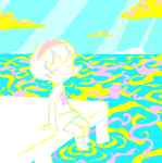 genaleah land_of_light_and_rain ocean rose_lalonde solo starter_outfit